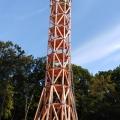Montáž vyhliadkovej protipožiarnej veži Trenčín