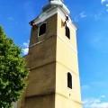 Náter kostolnej veže Ladice
