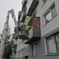 Oprava čiel balkónov Levice