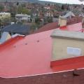 Fatrafol oprava strechy  BD Zlaté Moravce Tekovská