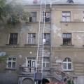montažny pokrývačský rebrík