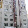 Oprava fasády BD Levice Konopná