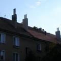 Montáž novej strechy BD Zlaté Moravce